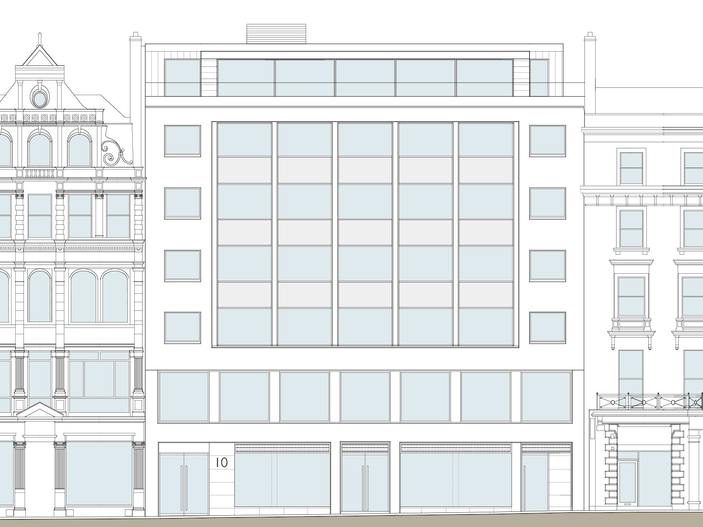 brook_street-elevation-cad